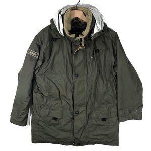 Other - Vintage Lacoste Coat Jacket Parka Sz L-XL Vtg 90s
